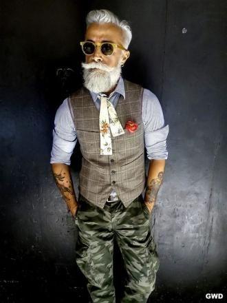 стильный дед