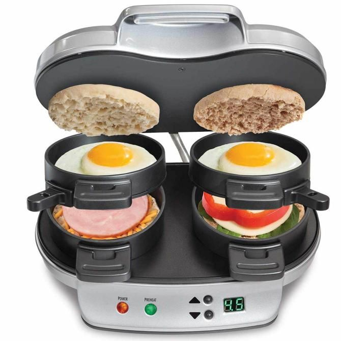 Сендвіч-машина Hamilton Beach Dual Breakfast Sandwich Maker