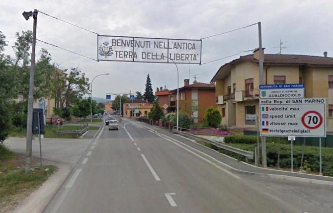 Італія - Сан-Марино