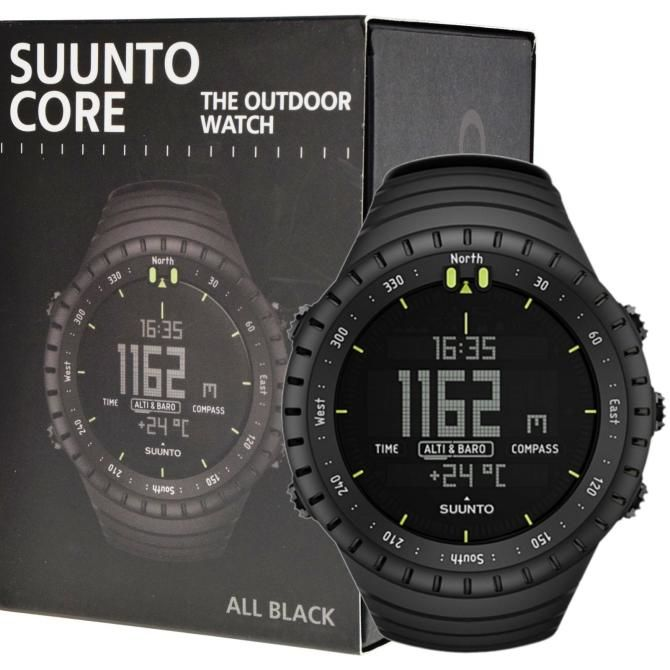 Спортивний годинник Suunto Core All Black