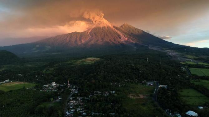 Вулкан-де-Фуего, Гватемала