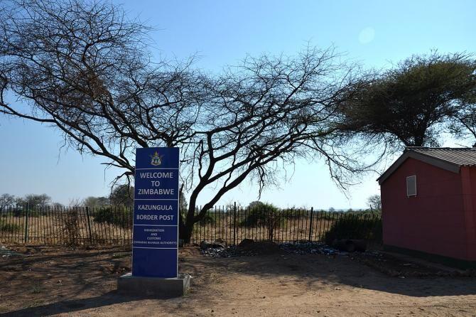 Замбія - Зімбабве - Ботсвана - Намібія