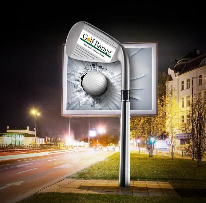 спортивная реклама