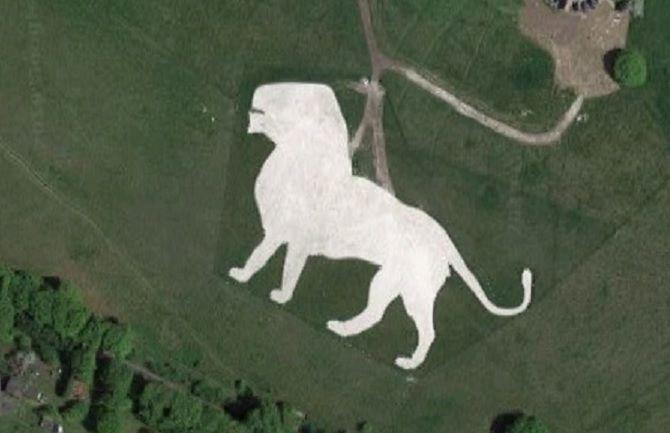 google maps Löwen