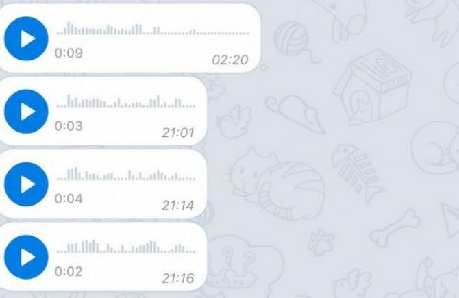 голосові повідомлення
