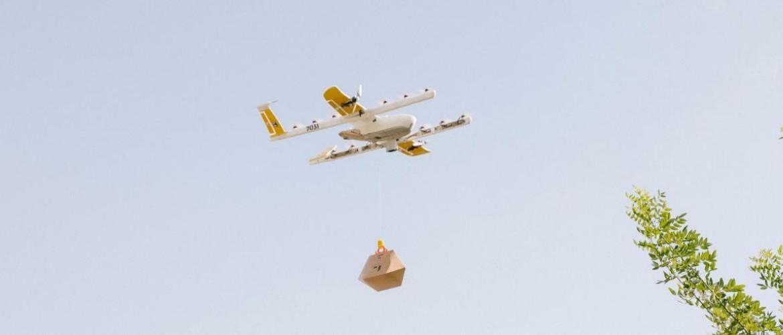 Первая в мире дроновая доставка еды стартовала в Австралии