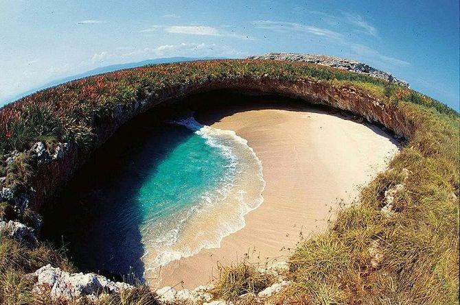 прихований пляж Hidden Beach