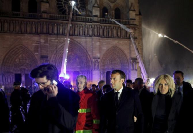 Пожар в самом сердце Парижа: восстановят ли Собор Парижской Богоматери 1