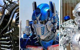 Художник створює вражаючі костюми роботів, в яких гуляє по Нью-Йорку