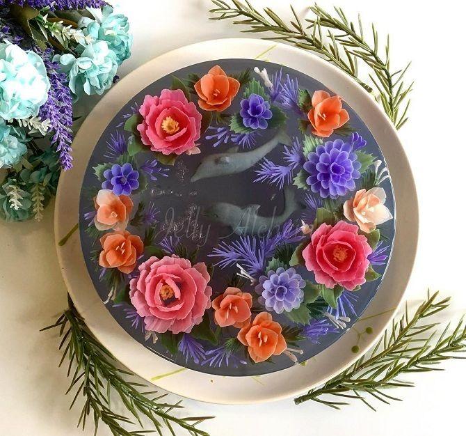 желейные торты