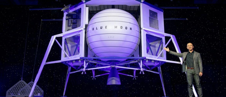 Джефф Безос презентовал прототип аппарата для высадки на Луну
