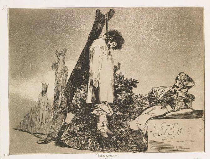 «Лихоліття війни», Франсіско Гойя