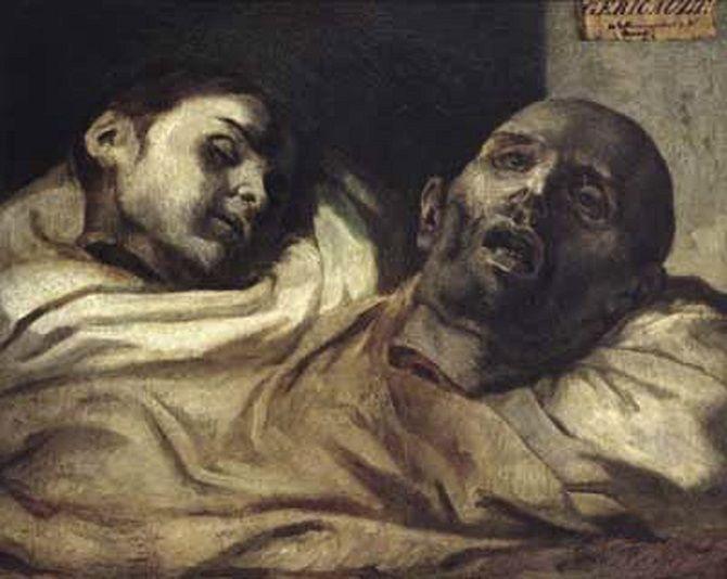 «Відрубані голови», Теодор Жеріко