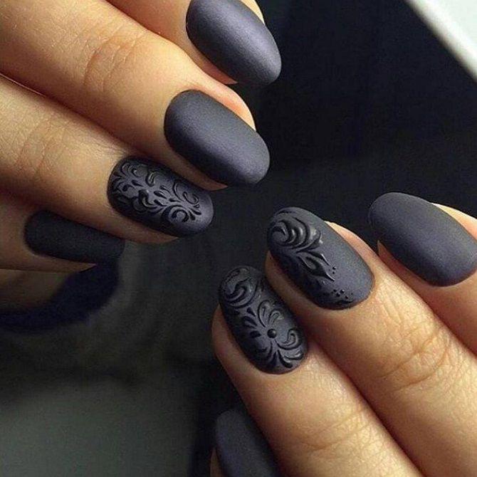 Темні нігті