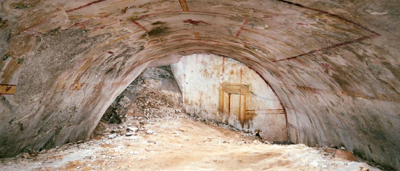 Тайная комната под дворцом императора Нерона обнаружена при реставрации