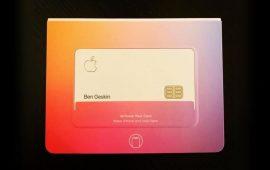 Як виглядає перша банківська карта Apple в реальному житті?