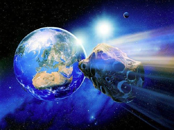 NASA и ESA готовят сценарий столкновения Земли с астероидом 2