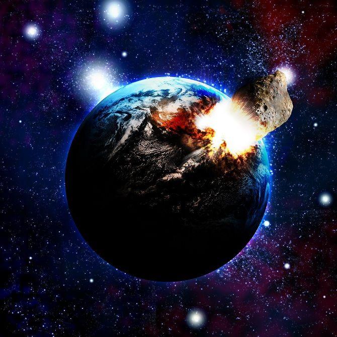 NASA и ESA готовят сценарий столкновения Земли с астероидом 3