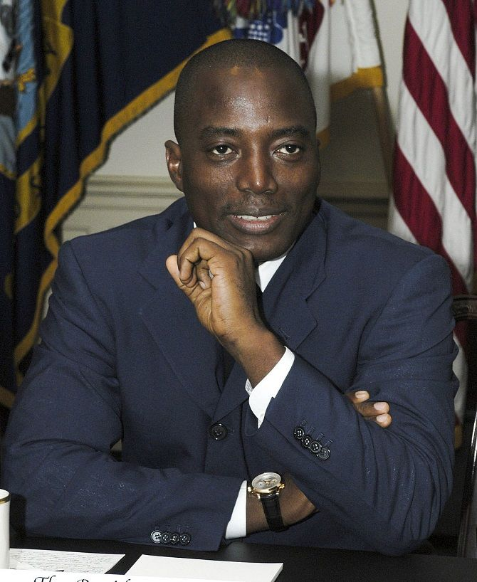 Жозеф Кабіла, Демократична республіка Конго