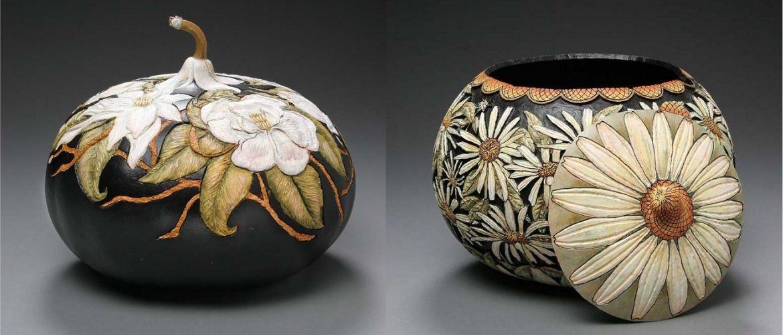 Фантастическое превращение тыквы в шедевр от Мэрилин Сандерсен