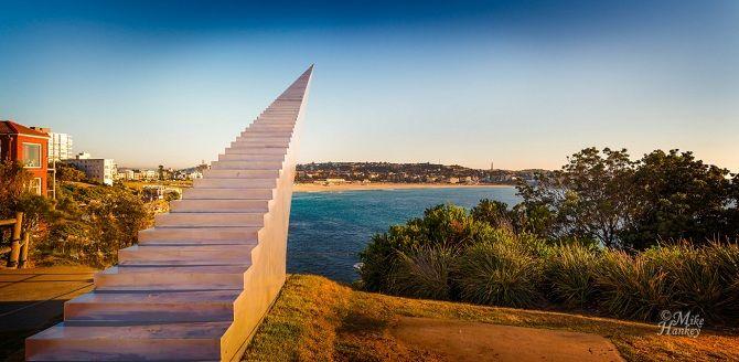 Скульптура Лестница в небо