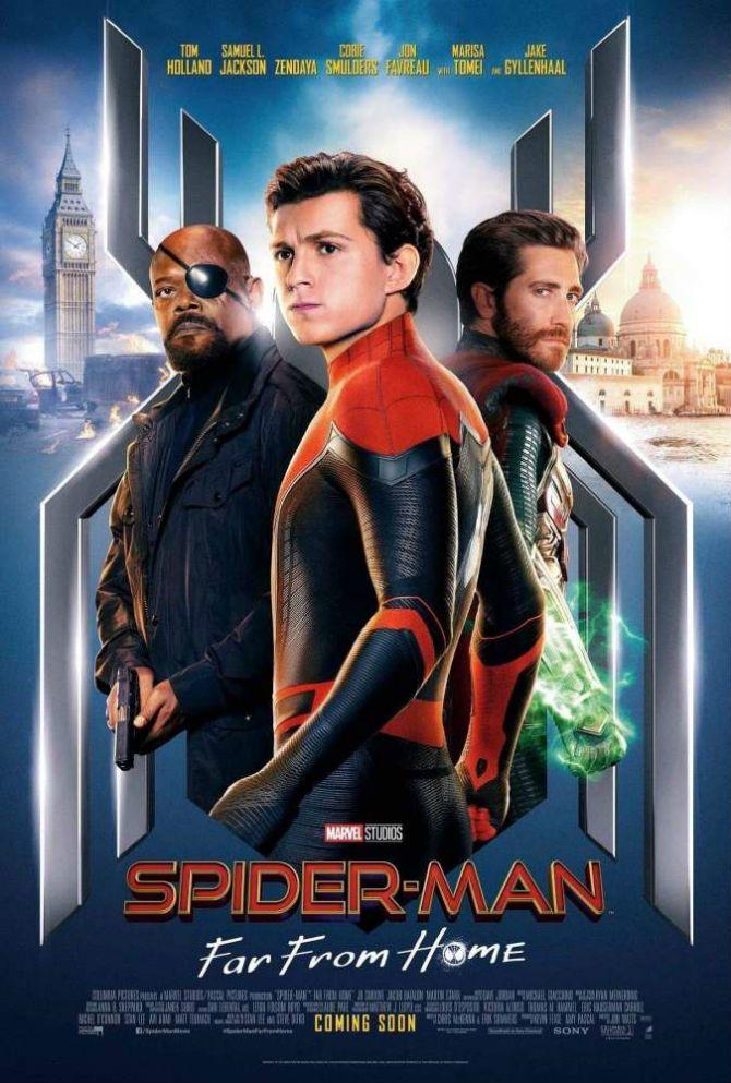 Людина-Павук. Далеко від дому