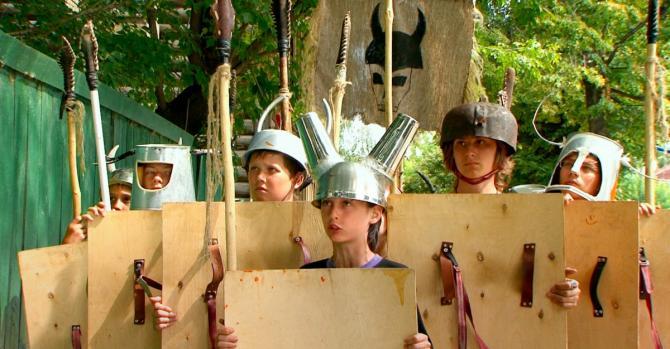 Втеча рогатих вікінгів