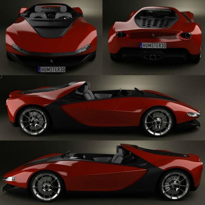 авто Ferrari Pininfarina Sergio