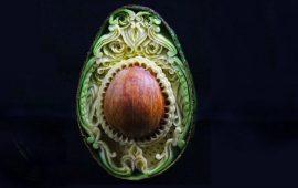 Необычные карвинг-композиции от Даниэля Барреси