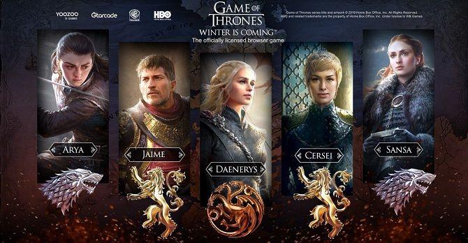 Почувствуй себя персонажем «Игры престолов»: игра-стратегия по мотивам сериала 1