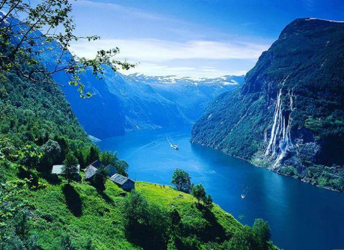 Гейрангер-фіорд, Норвегія