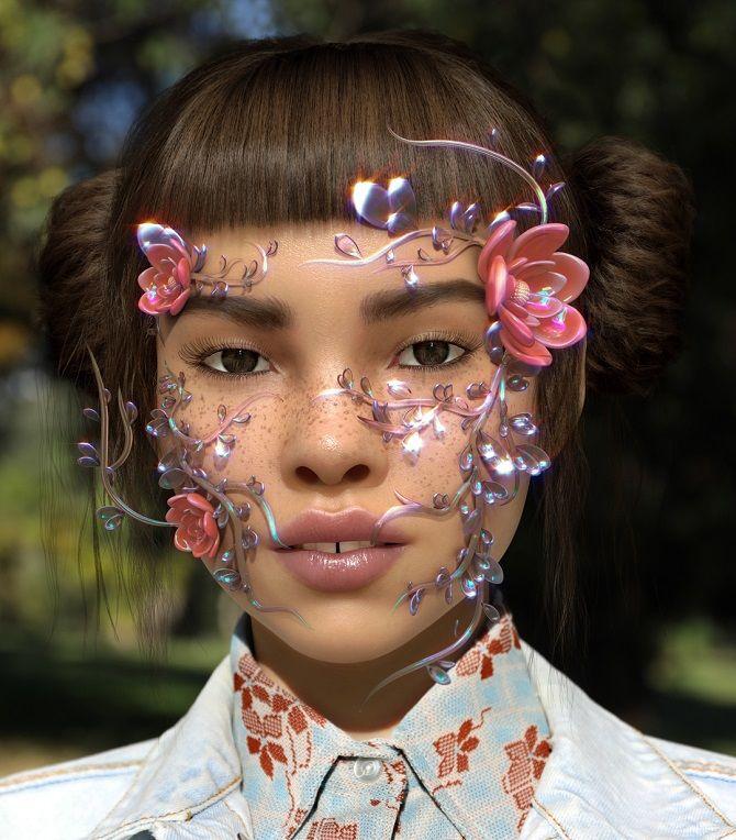3D-макияж