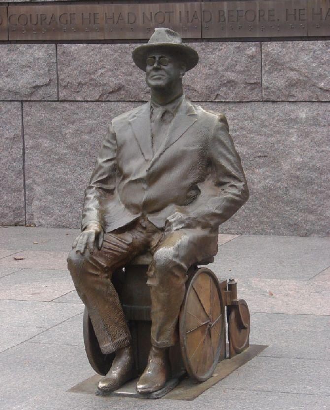 памятник Франклин Рузвельт