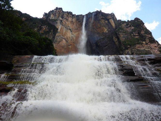 Водоспад Анхель, Венесуела