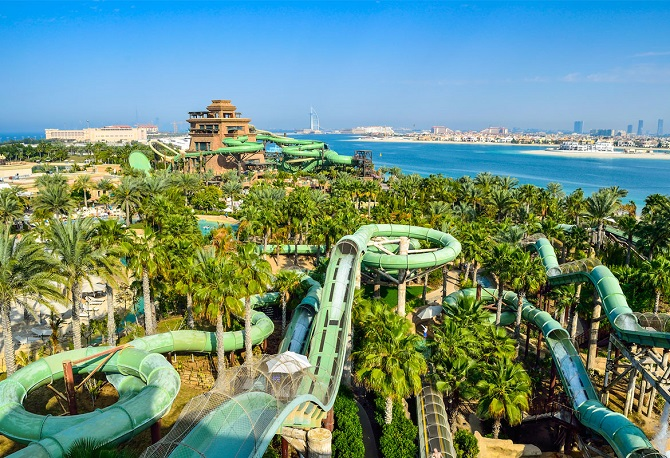 аквапарк Atlantis the Palm Resort