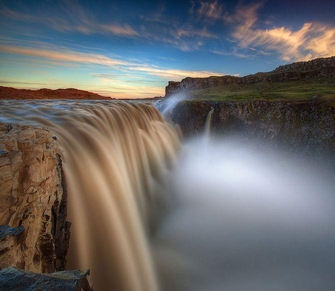 Водоспад Деттіфосс, Ісландія