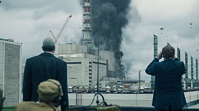 взрыв реактора чернобыль
