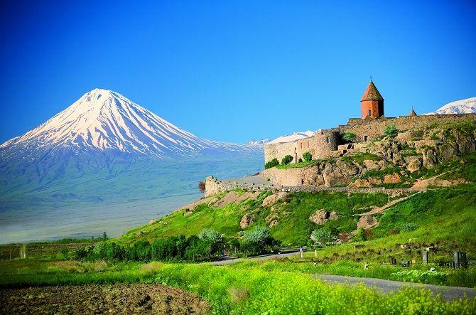 Гора Арац, Вірменія