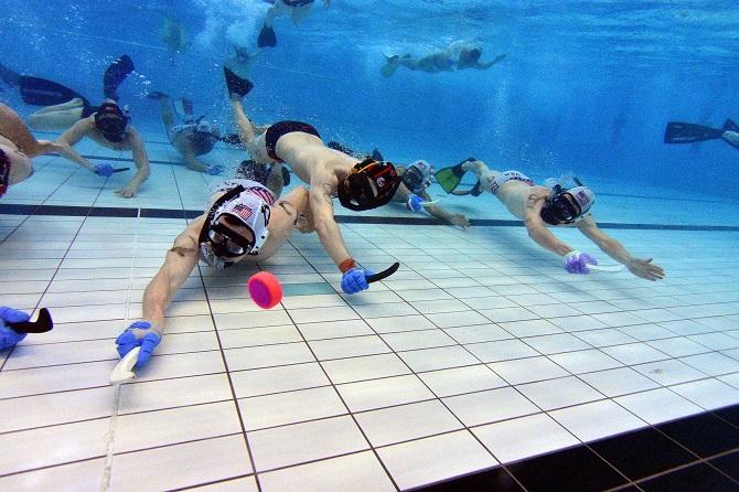 Подводный хоккей