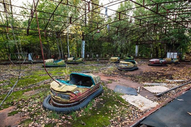 парк в чорнобилі