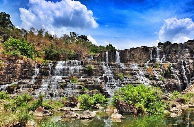 Водоспад Понгур