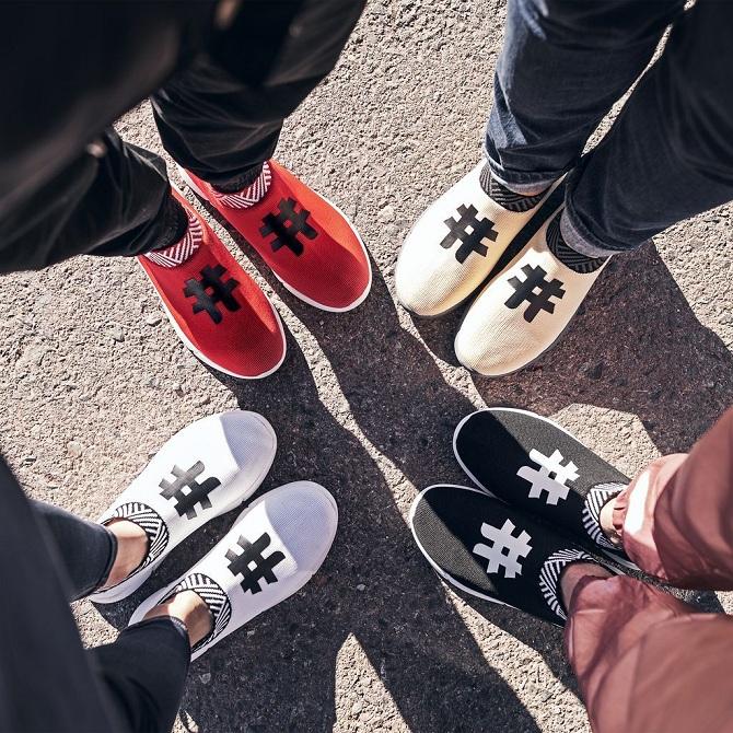 Обувь из кофе
