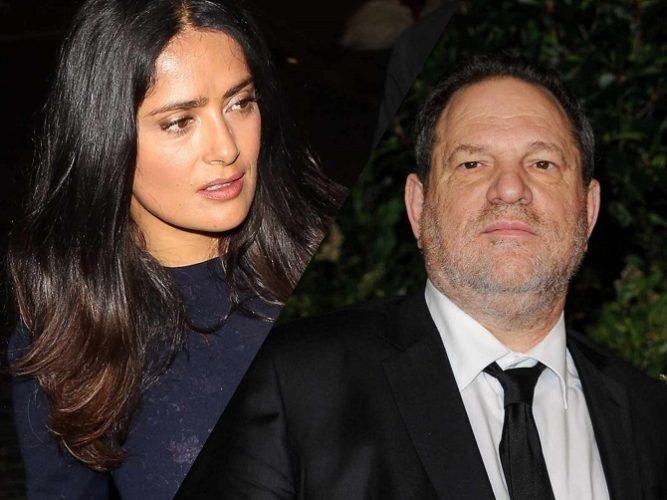 Salma Hayek, Harvey Weinstein