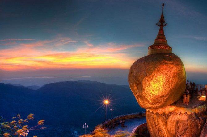 Золотий Валун, М'янма