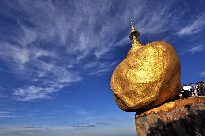 Золотой Валун, Мьянма