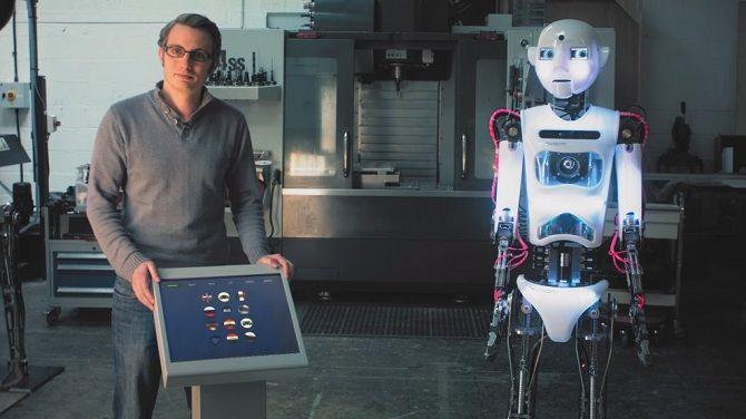 Робот-актор RoboThespian RT3