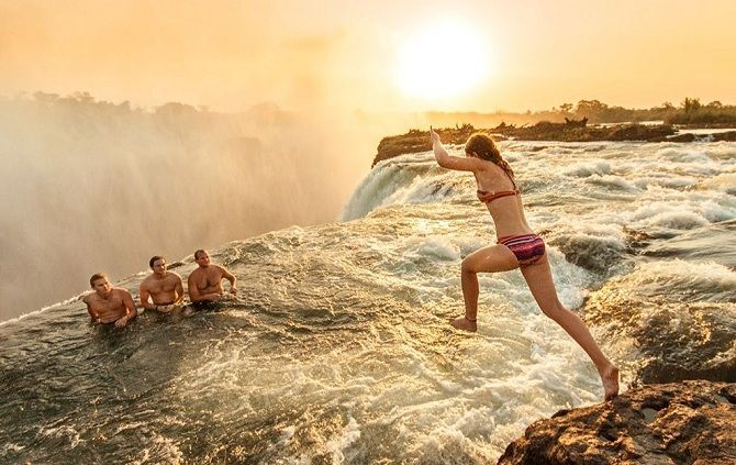 Водоспад Вікторія, Зімбабве