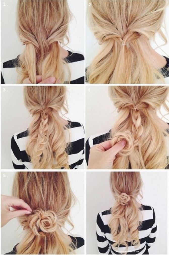 Модні зачіски в школу для дівчаток підлітків: легкі і прості варіанти 23