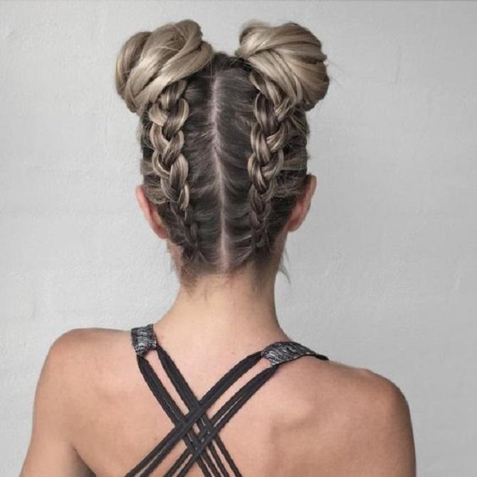 Модні зачіски в школу для дівчаток підлітків: легкі і прості варіанти 19