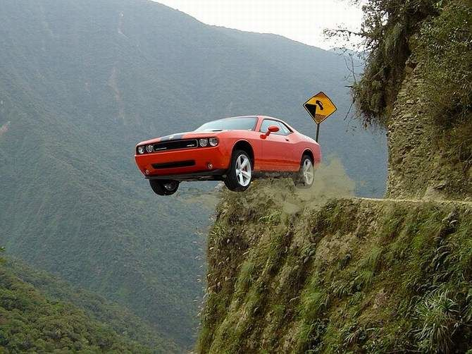 7 самых опасных дорог в мире 1